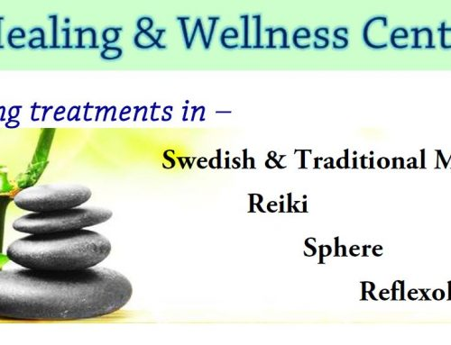 Treatments in Healing and Wellness Center